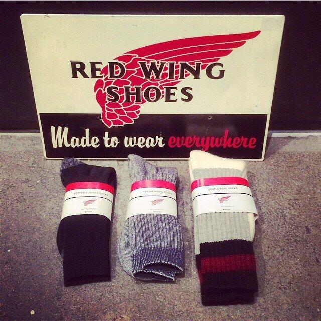 RED WING MERINO WOOL SOCKS