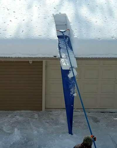5 Best Snow Roof Rakes For Fast Snow Removal 2019 Update