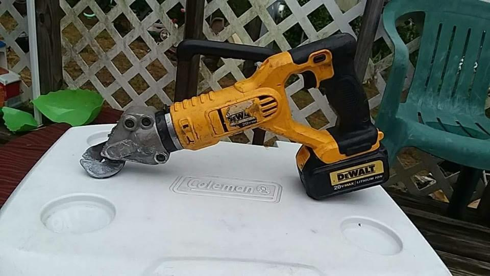 dewalt shear attachment